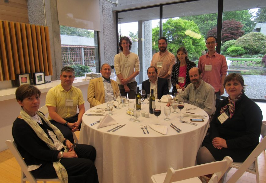 Snapshots from the 2019 Conference at the University of British Columbia